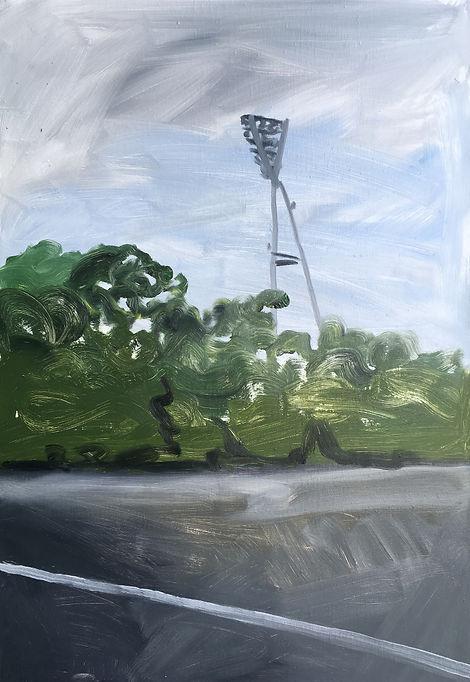 Markus Boesch / Berlin - 55 cm x 80 cm Oil on Canvas