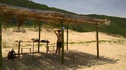 barraca de palha
