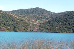 Lagoa do Peri e floresta