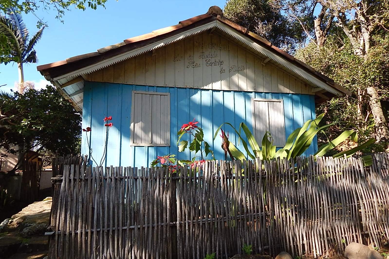 casa típica açoriana
