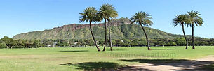 hawaii panoramas 12x36 diamond head