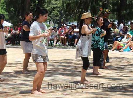 Hawaii flowers - Lei Day Celebration in Waikiki - Part 3 Final post on Lei Day