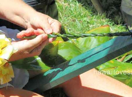 Hawaii flowers - Lei Day Celebration in Waikiki - Part 2
