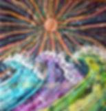 link to batik, batik art, batik paintings gallery