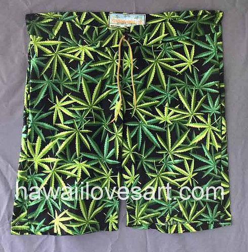 Marijuana design Board Shorts from Hawaii