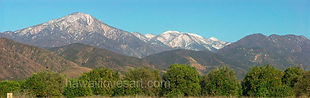 california mountain panoramas san gorgonio and oranges