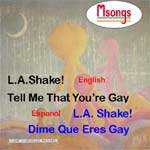 Msongs CD LA Shake and Tell Me That Youre Gay