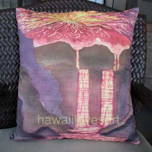 Pillow cover Volcano 18x18
