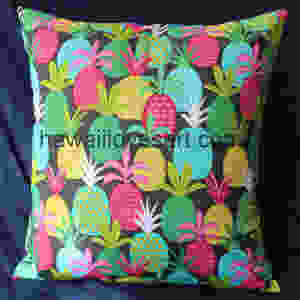 pineapple design pillow covers
