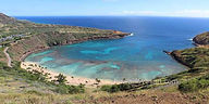 hawaii panoramas 14x28 haunama bay