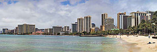 hawaii panoramas 12x36 waikiki