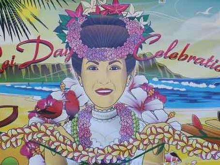 Hawaii flowers - Lei Day Celebration in Waikiki - Part 1