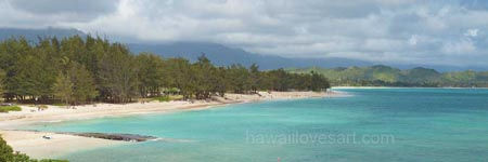 Hawaii pictures - panorama pictures of Oahu beaches