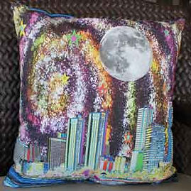 Made in Hawaii custom art pillow covers