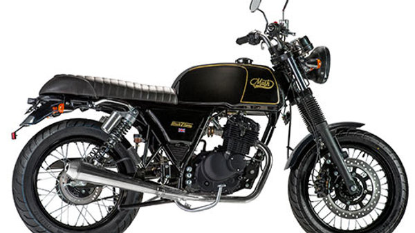 MASH 125 BLACK SEVEN E5 Schwarz matt