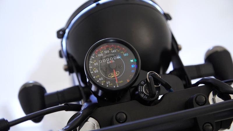 MASH SEVENTY 125cc Matt Black