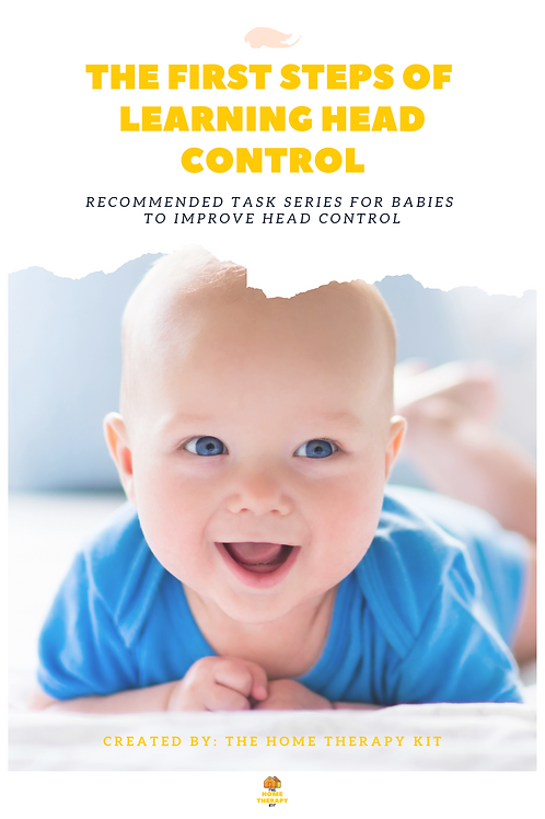 The first steps of learning head control