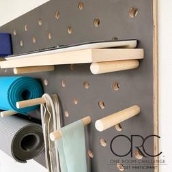 Pegboard Gym Storage | ORC Week 3