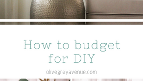 How to Budget for DIY