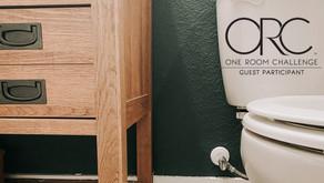 Bathroom Demo Day: New Vanity | One Room Challenge | Week 2