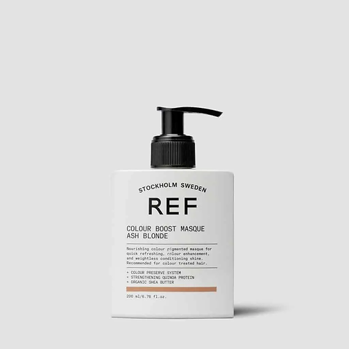 REF Colour Boost Masque- Ash Blonde  6.76 fl oz.
