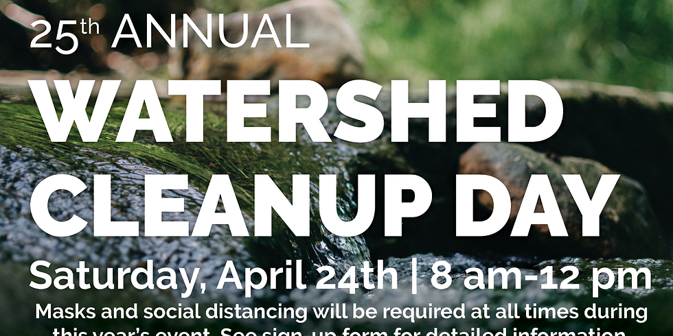 2021 Watershed Cleanup Day