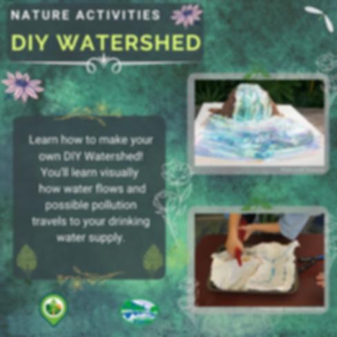 Create a DIY Watershed!