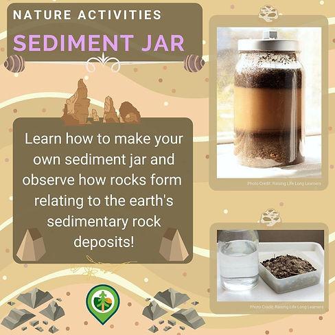 Create a Sediment Jar