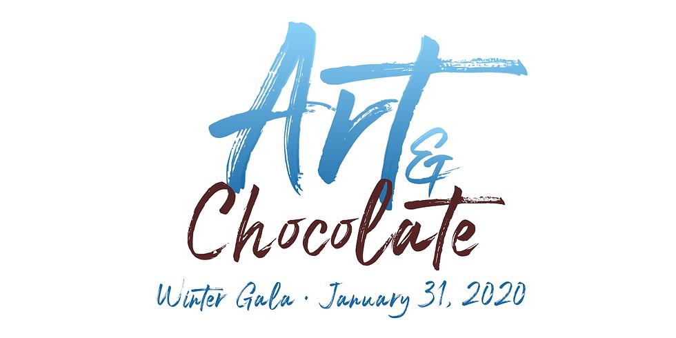 Art and Chocolate Winter Gala