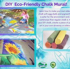 Eco Friendly Chalk Mural