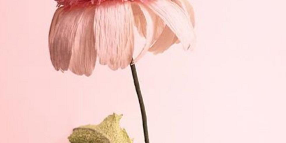 Crepe Flower Workshop (Second Session)
