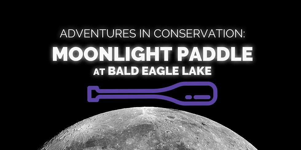 Adventures in Conservation: Moonlight Paddle at Bald Eagle Lake