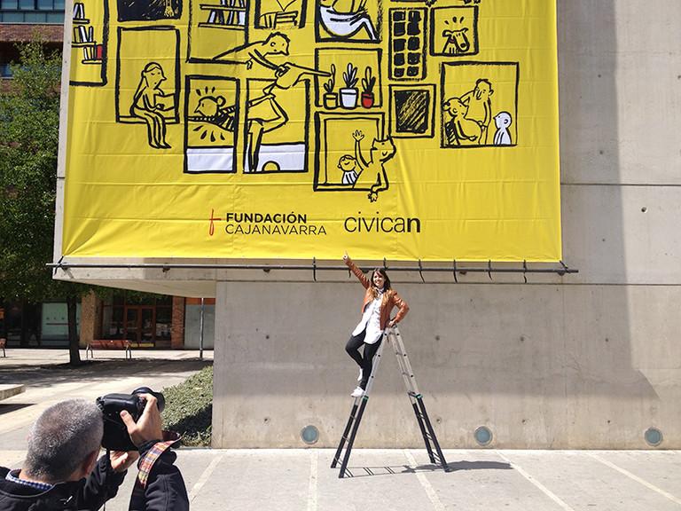 """Javiera Mc Lean se impone en el concurso de diseño del cartel """"Imagina Civican"""" 2017"""