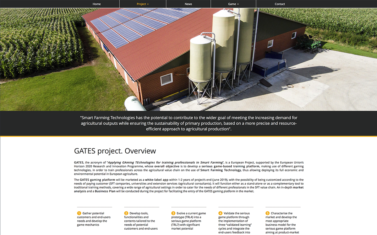 diseño web: Gates Project 4