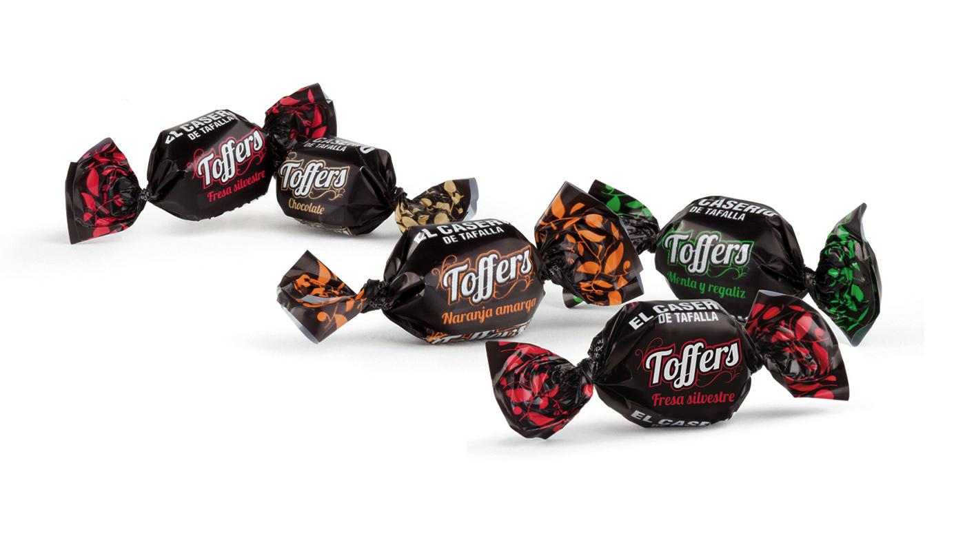 Caramelos Toffers El Caserío