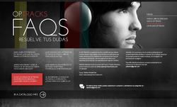 diseño web: optracks