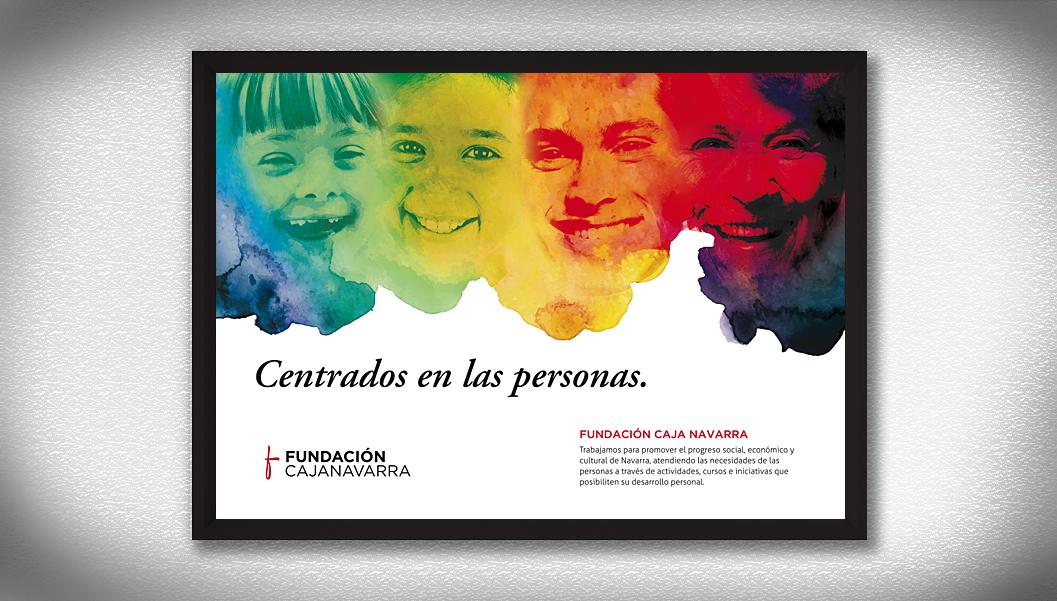 poster Fundación Caja Navarra