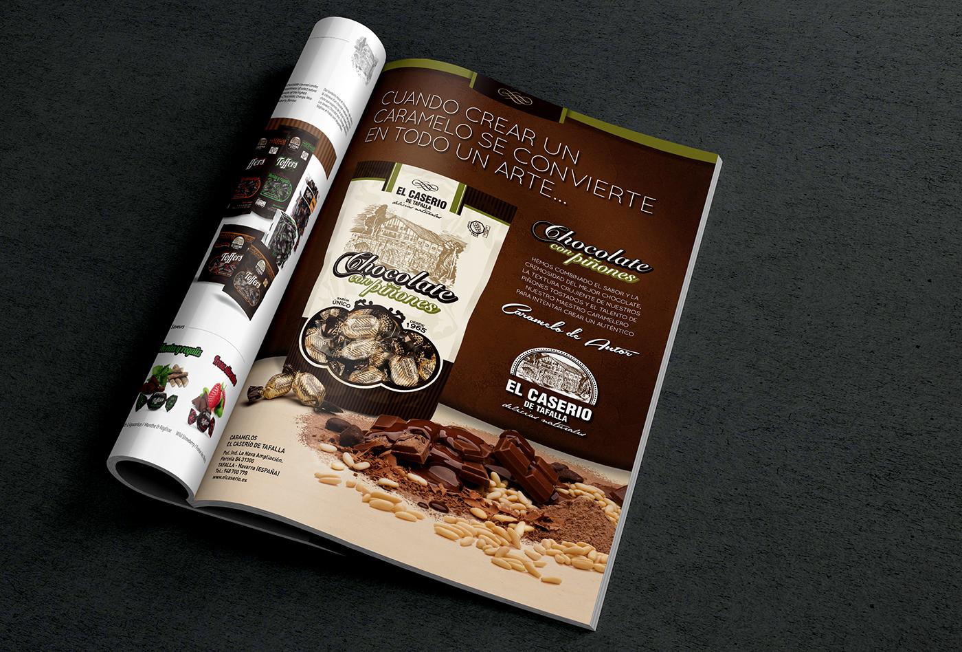 Chocolate y piñones - El Caserío