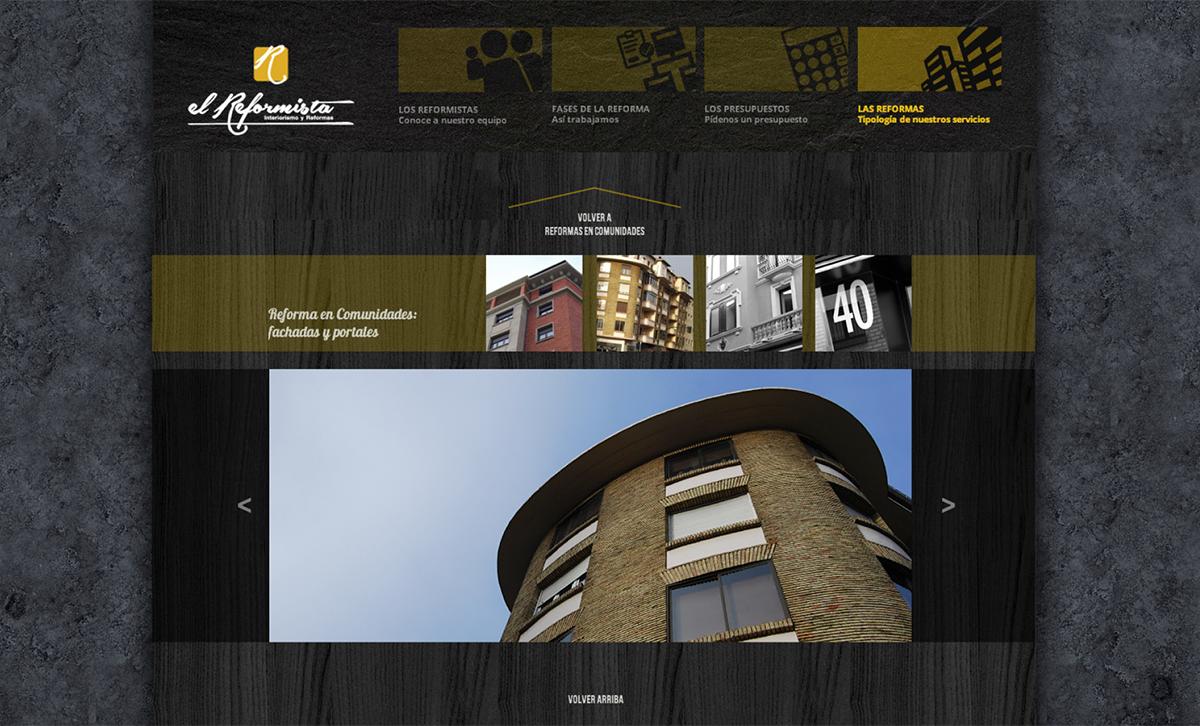 diseño web: El Reformista
