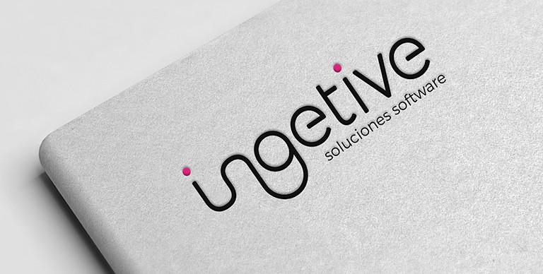 Diseño de imagen corporativa para Ingetive, Soluciones de Software para empresas