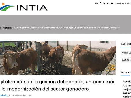 """Nota de prensa: """"Digitalización de la gestión del ganado, un paso más en la modernización del sector"""