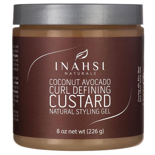 Inahsi Naturals - Coconut Avocado Curl Defining Custard 226γρ