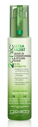 Giovanni - 2Chic® Ultra-Moist Leave-In Conditioning & Styling Elixir 118ml