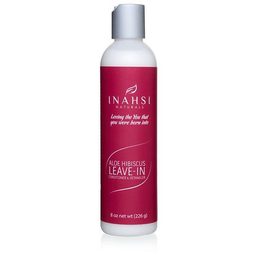 Inahsi Naturals - Aloe Hibiscus Leave-In Conditioner & Detangler 226gr