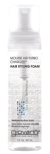 Giovanni Mousse Air-Turbo Charged Hair Styling Foam 207ml