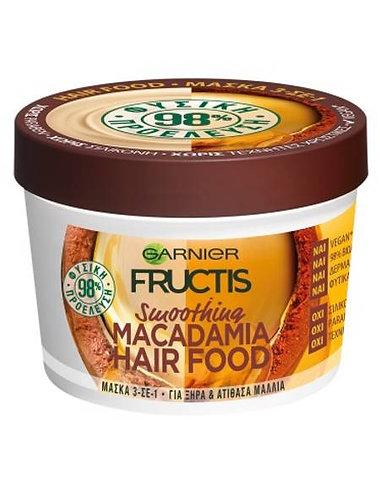 Fructis Hair Food Smoothing Macadamia 390ml