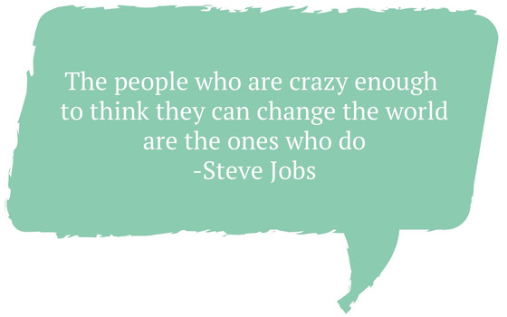I have a Crazy Idea! Let's Change the World Through Service.