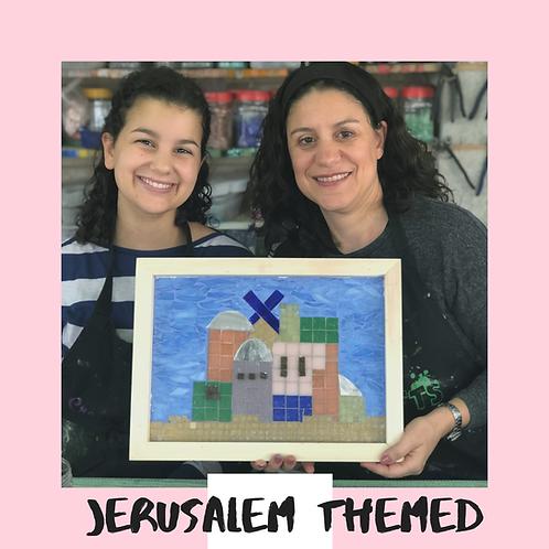 JERUSALEM THEMED MOSAICS