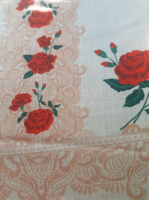 Фина Бежова Вълна на Рози Dolce & Gabbana