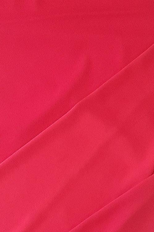 Червена Сатенирана ластична коприна Cady